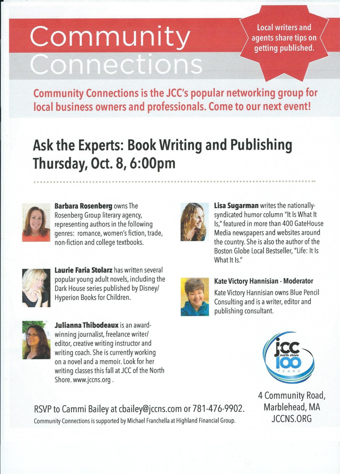 Ask the Experts: Book Writing and Publishing